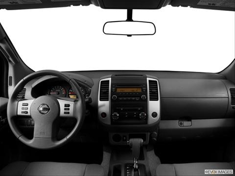 2014 Nissan Frontier King Cab 2-door S  Pickup Dashboard, center console, gear shifter view photo