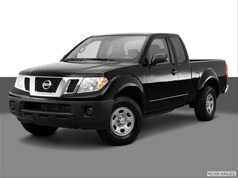 2014 Nissan Frontier King Cab 2-door S  Pickup Front angle medium view photo