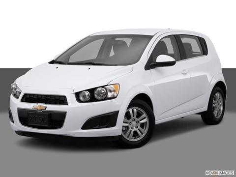 2014 Chevrolet Sonic 4-door LT  Hatchback Sedan Front angle medium view photo