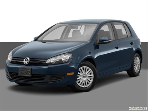 2014 Volkswagen Golf 4-door 2.5L  Hatchback Sedan Front angle medium view photo