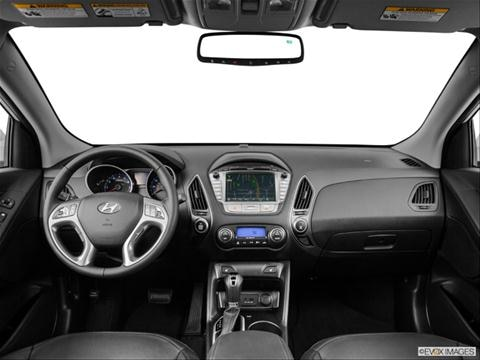 2014 Hyundai Tucson 4-door Limited  Sport Utility Dashboard, center console, gear shifter view photo