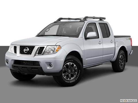 2014 Nissan Frontier Crew Cab 4-door PRO-4X  Pickup Front angle medium view photo