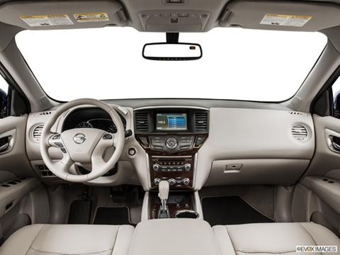 2014 Nissan Pathfinder 4-door SV Hybrid  Sport Utility Dashboard, center console, gear shifter view photo