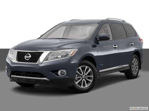 2014 Nissan Pathfinder 4-door Platinum Hybrid  Sport Utility Front angle medium view photo