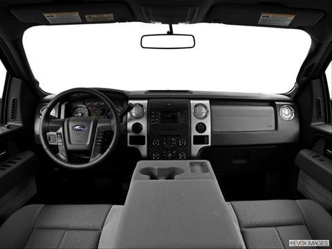 2014 Ford F150 SuperCrew Cab 4-door XL  Pickup Dashboard, center console, gear shifter view photo