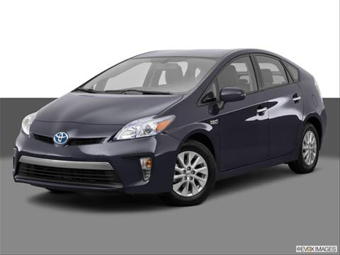2014 Toyota Prius Plug-in 4-door Advanced  Hatchback Front angle medium view photo