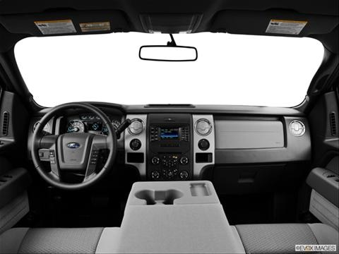 2014 Ford F150 Super Cab 4-door SVT Raptor  Pickup Dashboard, center console, gear shifter view photo