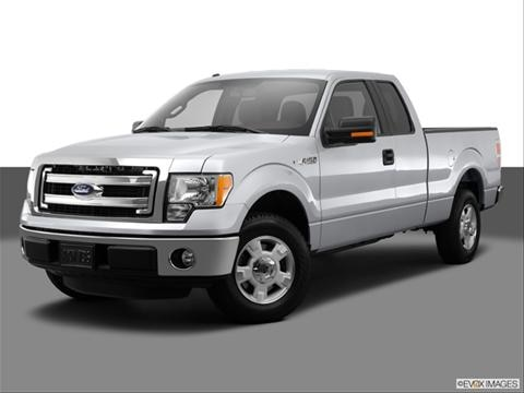 2014 Ford F150 Super Cab 4-door STX  Pickup Front angle medium view photo