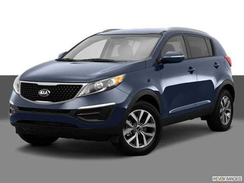 2014 Kia Sportage 4-door SX  Sport Utility Front angle medium view photo
