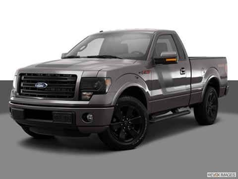 2014 Ford F150 Regular Cab 2-door XLT  Pickup Front angle medium view photo