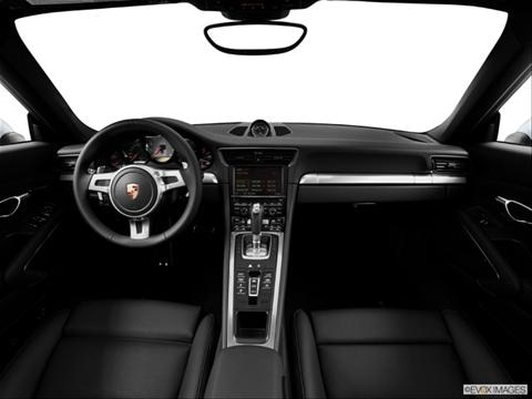 2014 Porsche 911 2-door Carrera 4S  Coupe Dashboard, center console, gear shifter view photo