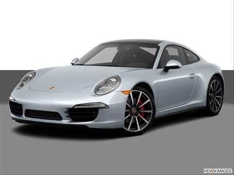 2014 Porsche 911 2-door Carrera 4S  Coupe Front angle medium view photo