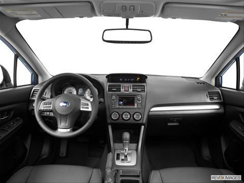2014 Subaru Impreza 4-door 2.0i Premium  Wagon Dashboard, center console, gear shifter view photo