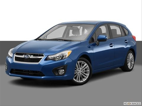 2014 Subaru Impreza 4-door 2.0i Premium  Wagon Front angle medium view photo
