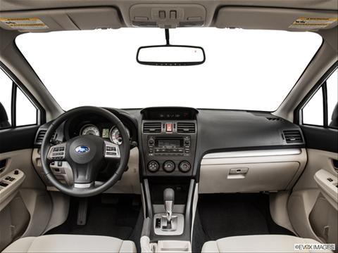 2014 Subaru Impreza 4-door 2.0i Premium  Sedan Dashboard, center console, gear shifter view photo
