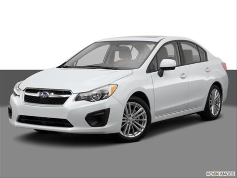 2014 Subaru Impreza 4-door 2.0i Premium  Sedan Front angle medium view photo