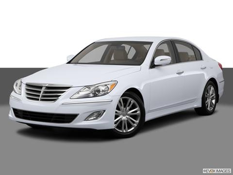 2014 Hyundai Genesis 4-door 3.8  Sedan Front angle medium view photo