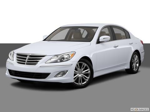 2014 Hyundai Genesis 4-door 3.8  Sedan Front angle medium view photo