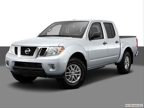 2014 Nissan Frontier Crew Cab 4-door SV  Pickup Front angle medium view photo