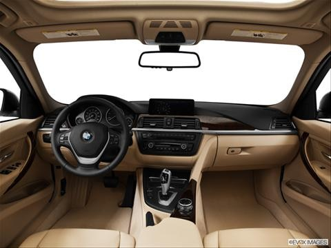 2014 BMW 3 Series 4-door 328d  Sedan Dashboard, center console, gear shifter view photo