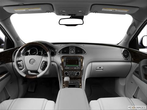 2014 Buick Enclave 4-door Premium  Sport Utility Dashboard, center console, gear shifter view photo