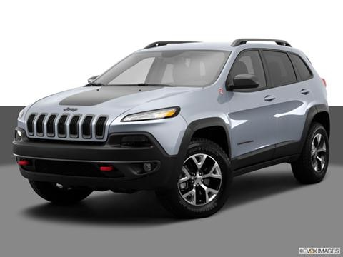 2014 Jeep Cherokee 4-door TrailHawk  Sport Utility Front angle medium view photo
