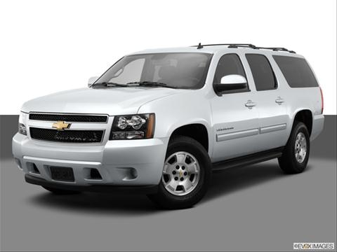 2014 Chevrolet Suburban 1500 4-door LS  Sport Utility Front angle medium view photo