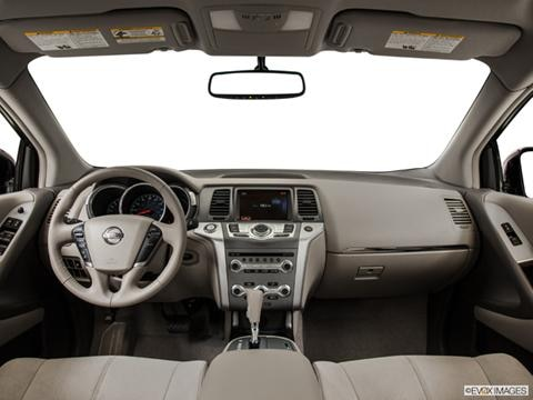 2014 Nissan Murano 4-door S  Sport Utility Dashboard, center console, gear shifter view photo