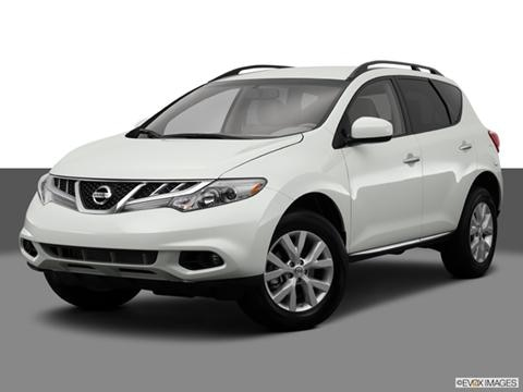 2014 Nissan Murano 4-door S  Sport Utility Front angle medium view photo