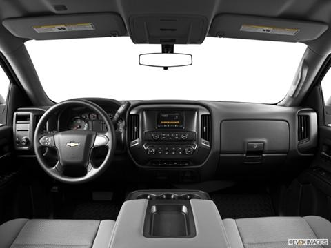 2014 Chevrolet Silverado 1500 Crew Cab 4-door Work Truck  Pickup Dashboard, center console, gear shifter view photo