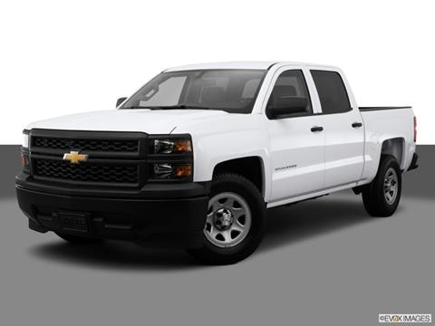 2014 Chevrolet Silverado 1500 Crew Cab 4-door Work Truck  Pickup Front angle medium view photo