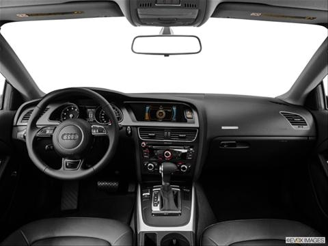 2014 Audi A5 2-door Premium  Coupe Dashboard, center console, gear shifter view photo
