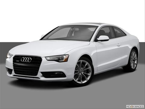 2014 Audi A5 2-door Premium  Coupe Front angle medium view photo
