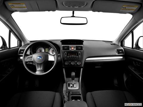 2014 Subaru Impreza 4-door 2.0i  Sedan Dashboard, center console, gear shifter view photo