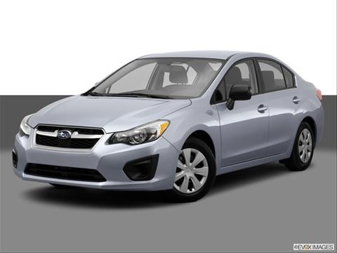 2014 Subaru Impreza 4-door 2.0i  Sedan Front angle medium view photo