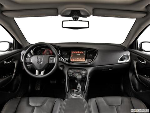 2014 Dodge Dart 4-door SE  Sedan Dashboard, center console, gear shifter view photo