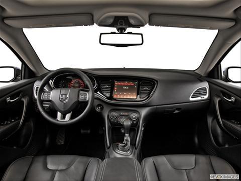 2014 Dodge Dart 4-door SE  Sedan Dashboard, center console, gear shifter view photo