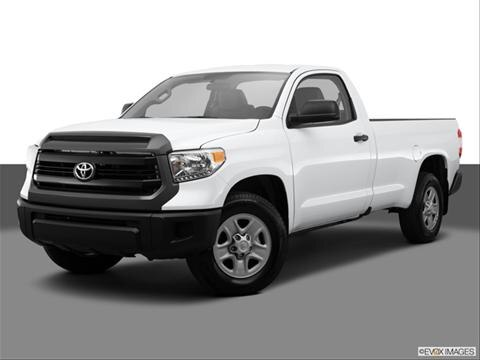 2014 Toyota Tundra Regular Cab 2-door SR  Pickup Front angle medium view photo