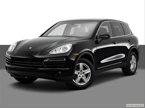 2014 Porsche Cayenne 4-door Diesel  Sport Utility Front angle medium view photo
