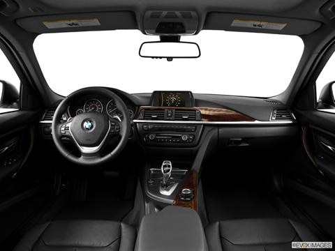 2014 BMW 3 Series 4-door 328i xDrive  Sport Wagon Dashboard, center console, gear shifter view photo