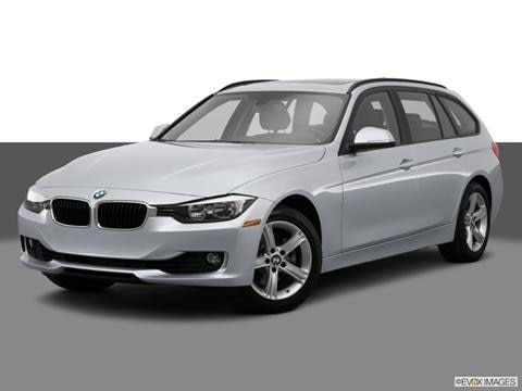 2014 BMW 3 Series 4-door 328i xDrive  Sport Wagon Front angle medium view photo