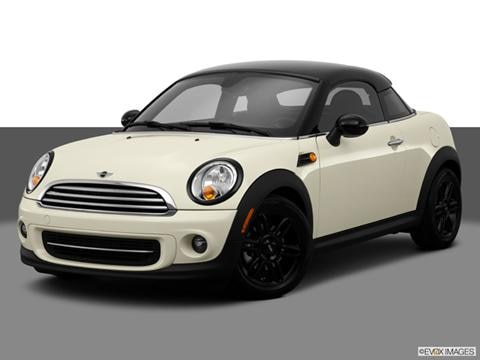 2014 MINI Cooper Coupe 2-door   Coupe Front angle medium view photo