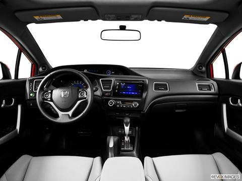 2014 Honda Civic 2-door EX-L  Coupe Dashboard, center console, gear shifter view photo