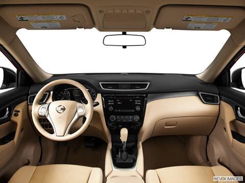 2014 Nissan Rogue 4-door S  Sport Utility Dashboard, center console, gear shifter view photo