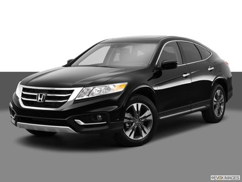 2014 Honda Crosstour 4-door EX-L  Sport Utility Front angle medium view photo