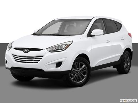 2014 Hyundai Tucson 4-door GLS  Sport Utility Front angle medium view photo