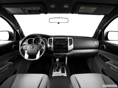 2014 Toyota Tacoma Access Cab 4-door   Pickup Dashboard, center console, gear shifter view photo