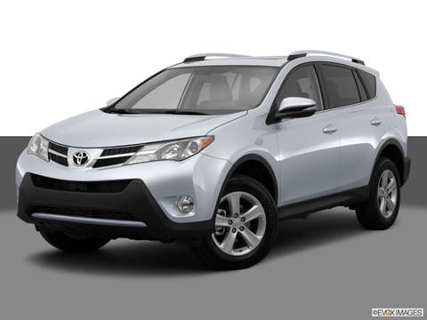 2014 Toyota RAV4 4-door LE  Sport Utility Front angle medium view photo