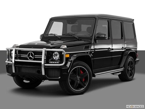 2014 Mercedes-Benz G-Class 4-door G63 AMG 4MATIC  Sport Utility Front angle medium view photo