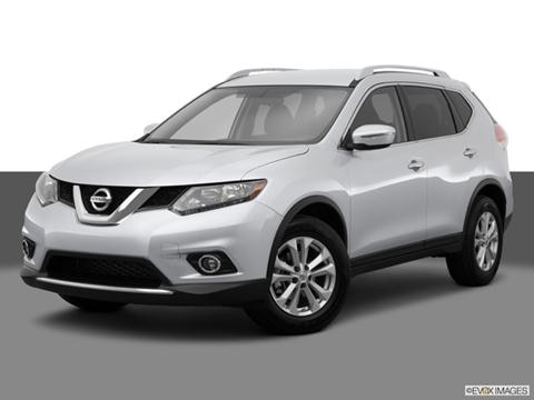 2014 Nissan Rogue 4-door SV  Sport Utility Front angle medium view photo